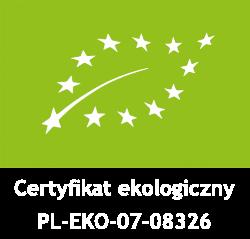 Certyfikat PL-EKO-07-08326